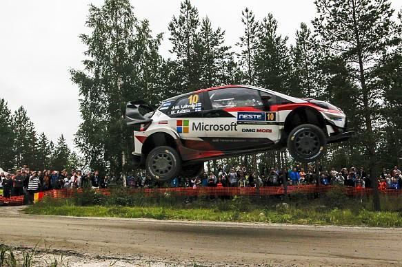 Jari-Matti Latvala Toyota WRC Finland 2017