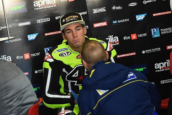 Aleix Espargaro Aprilia MotoGP testing 2016