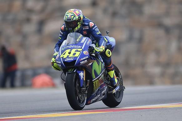 Valentino Rossi Yamaha Aragon MotoGP 2017