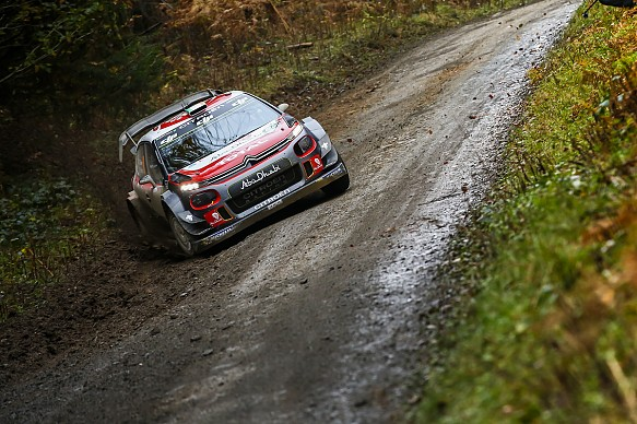 Craig Breen Citroen WRC Rally GB 2017