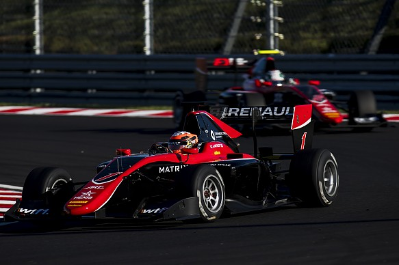 Jack Aitken ART Hungaroring GP3 2017