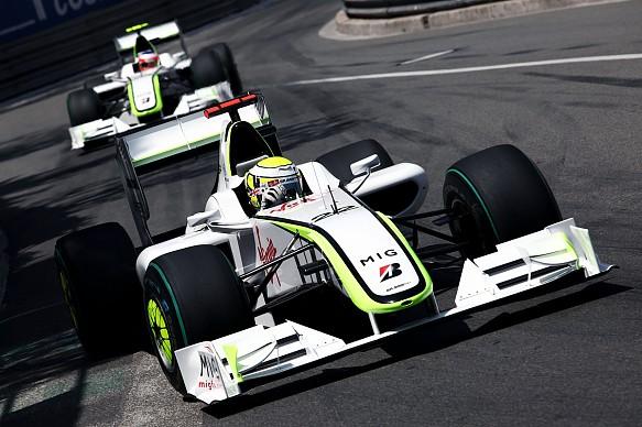 Jenson Button Monaco GP 2009 Brawn