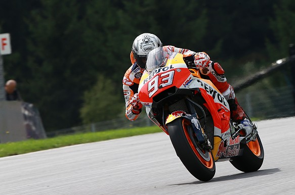 Marc Marquez Honda MotoGP Red Bull Ring 2017