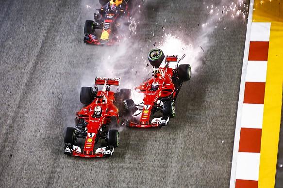 Singapore GP crash 2017