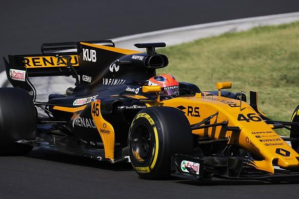 Robert Kubica Renault F1 testing 2017