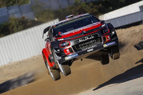 Stephane Lefebvre Citroen WRC Portugal 2017