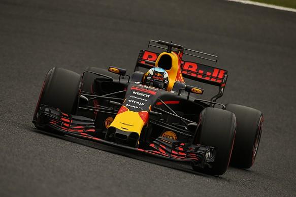 Daniel Ricciardo at Japanese Grand Prix.