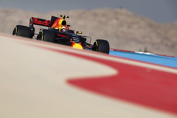Max Verstappen, Red Bull, Bahrain GP 2017