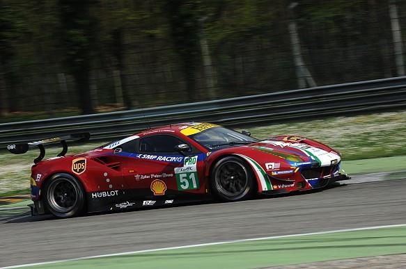 AF Corse Ferrari, Monza WEC test 2017