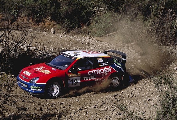 Carlos Sainz Rally Turkey 2003