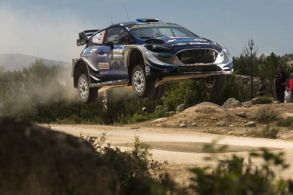 Ott Tanak Rally Italy 2017