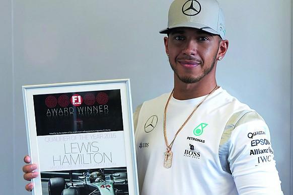 Lewis Hamilton F1 Racing Awards