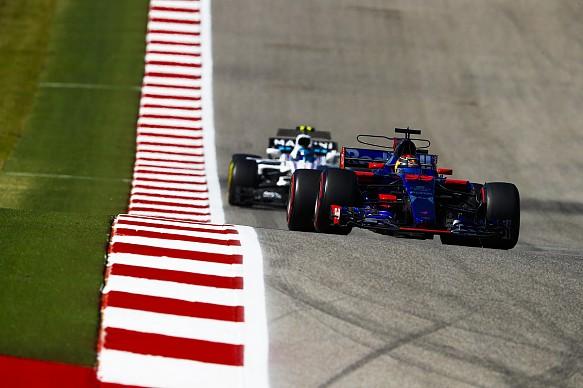 Brendon Hartley Toro Rosso US GP 2017
