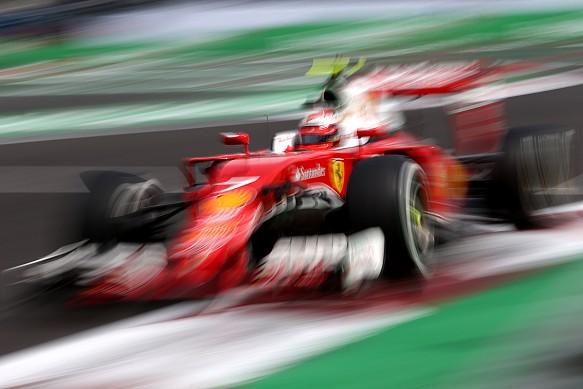 Kimi Raikkonen, Ferrari, Mexican GP 2016