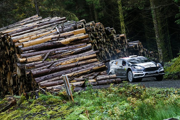 Ott Tanak Rally GB 2016