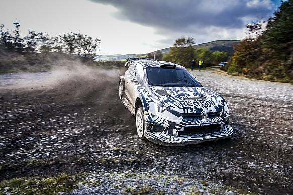 Volkswagen 2017 WRC testing