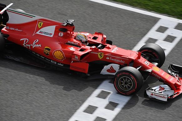 Vettel, Ferrari, Bahrain testing