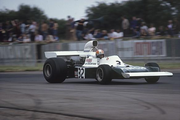 John Nicholson British GP F1 1975 Lyncar