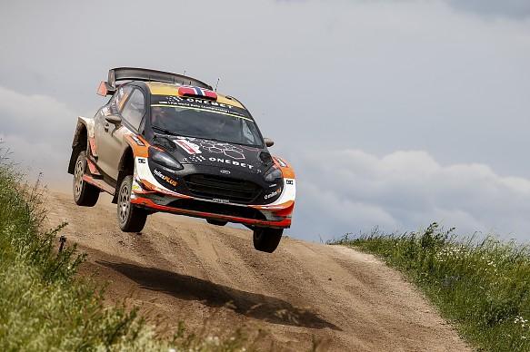 Mads Ostberg WRC Poland 2017