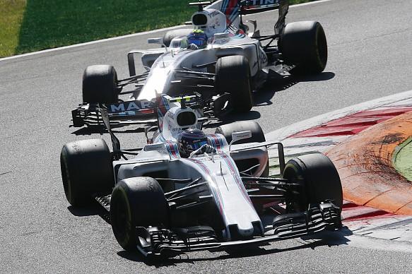 Stroll Massa Williams Italian Grand Prix 2017