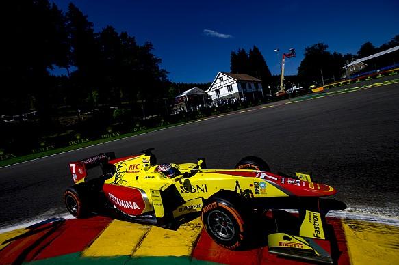 Evans, GP2, Spa