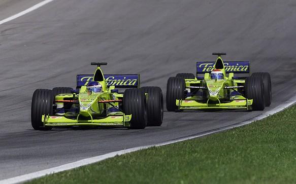 Mazzacane Gene Minardi F1 2000