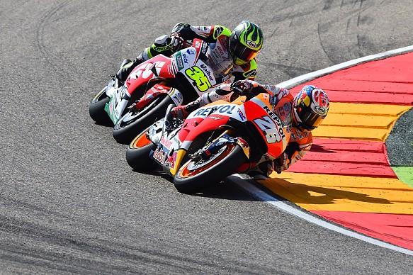 Pedrosa Crutchlow MotoGP Aragon 2016