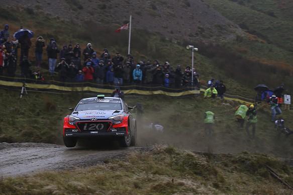 Hayden Paddon Rally GB 2016
