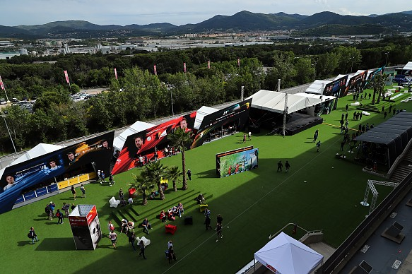 Spanish Grand Prix fan zone