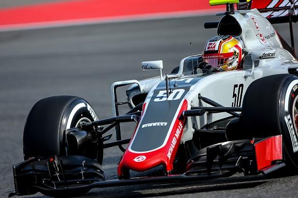 Charles Leclerc Haas F1 2016