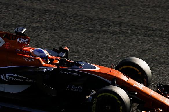 Fernando Alonso McLaren Japanese Grand Prix 2017