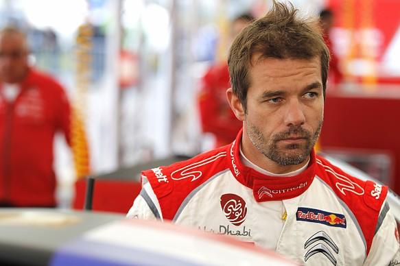 Seabstien Loeb Citroen WRC 2013