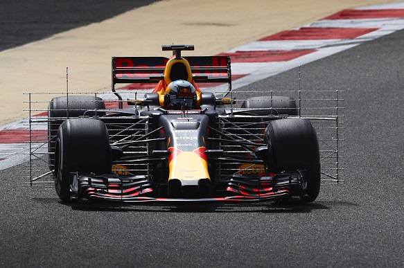 Daniel Ricciardo, Red Bull, Bahrain F1 testing 2017