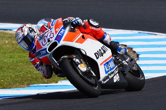 Andrea Dovizioso, Ducati, MotoGP testing Phillip Island 2017