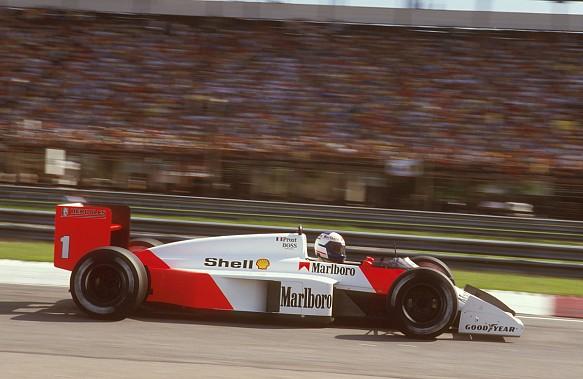 Alain Prost McLaren F1 1987