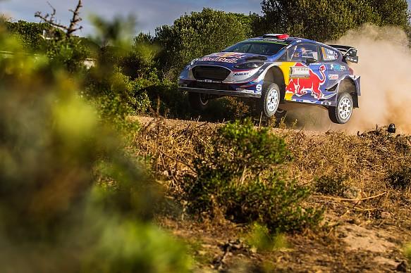 Sebastien Ogier M-Sport Ford WRC Italy 2017