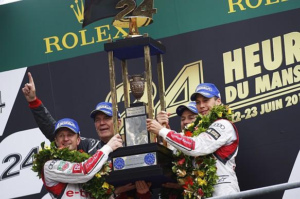 Loic Duval Le Mans 24 Hours 2013