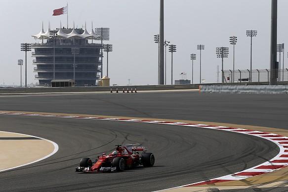 Sebastian Vettel, Ferrari, Bahrain GP 2017
