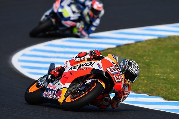 Marc Marquez, Honda, Phillip Island MotoGP testing 2017