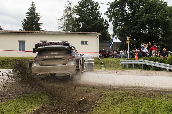 Teemu Suninen M-Sport Ford Fiesta WRC Rally Poland 2017