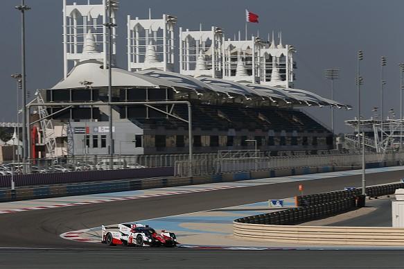 Toyota Bahrain WEC rookie test 2016