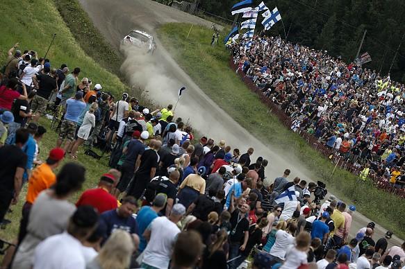 Kris Meeke, Citroen, WRC Rally Finland 2016