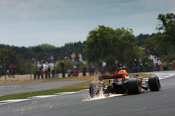 Daniel Ricciardo Red Bull F1 British GP 2017