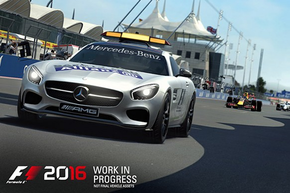F1 2016 game screenshot