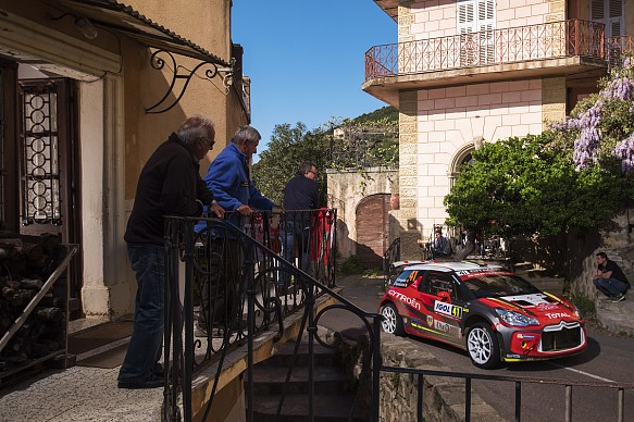 Citroen R5 WRC2 car