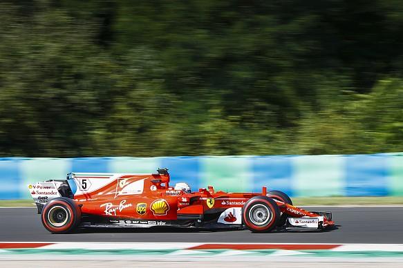Sebastian Vettel Ferrari F1 2017 testing