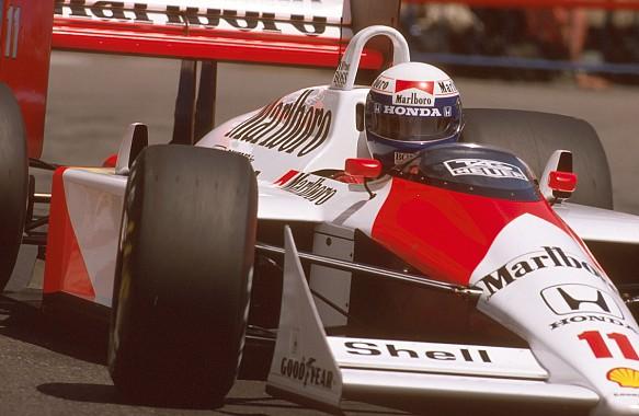 Alain Prost McLaren F1 1988