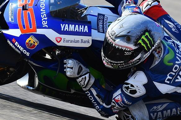 Jorge Lorenzo Yamaha MotoGP 2016 Aragon