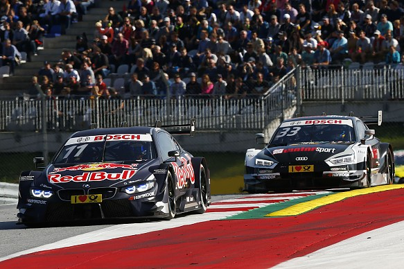 Wittmann Rast Red Bull Ring DTM 2017