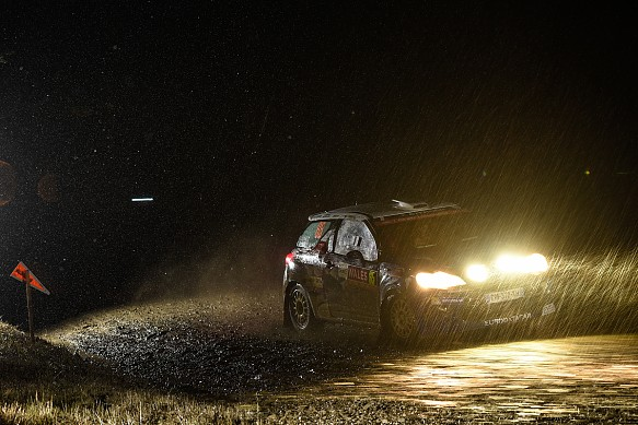 Rally GB night stage 2015